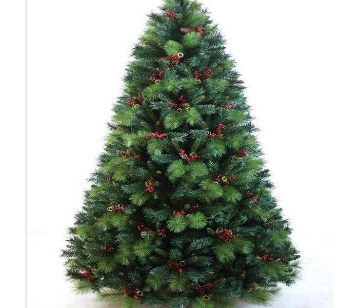 Why SERVPRO  Christmas tree safety tips to keep your home safe over the holiday