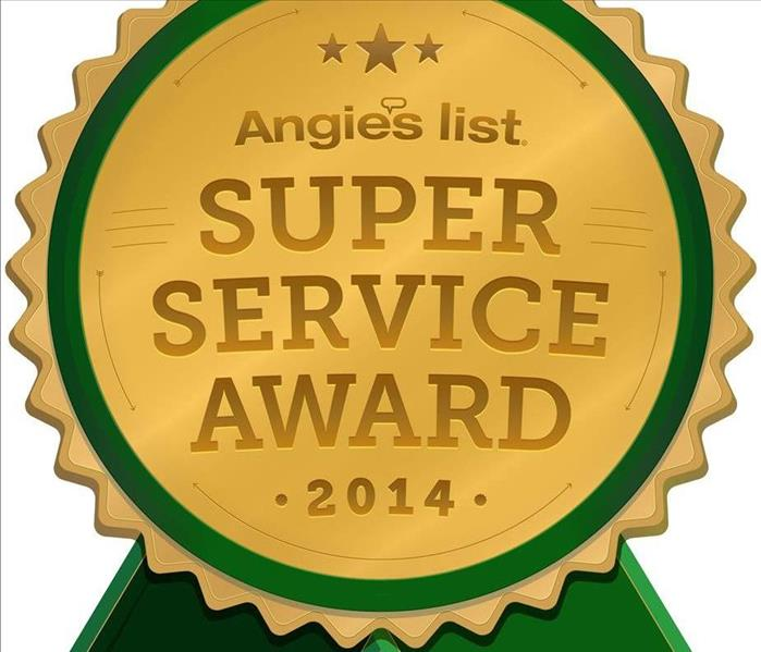 General Angie's list Super Service Award 2014